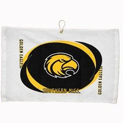 Southern Miss Golden Eagles Printed Hemmed Golf Towel