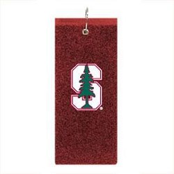 Stanford Cardinal Embroidered Golf Towel