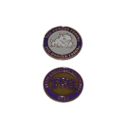 Texas Christian (TCU) Horned Frogs Golf Ball Marker