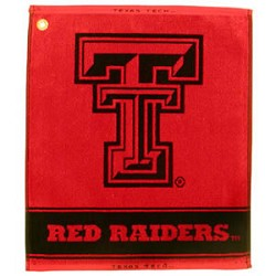 Texas Tech Red Raiders Jacquard Golf Towel