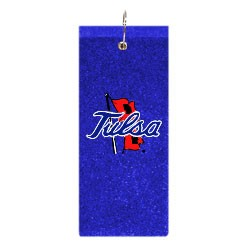 Tulsa Golden Hurricanes Embroidered Golf Towel