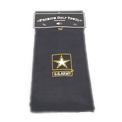 U.S. Army Embroidered Golf Towel