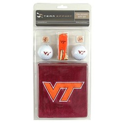 Virginia Tech Hokies Golf Gift Set