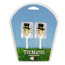 Wake Forest Demon Deacons Set of 2 Mascot Golf Tees