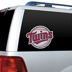 Minnesota Twins Diecut Window Film