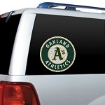 Oakland Athletics Diecut Window Film