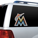 Miami Marlins Diecut Window Film