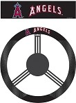 Los Angeles (Anaheim) Angels Poly-Suede Steering Wheel Cover