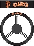 San Francisco Giants Poly-Suede Steering Wheel Cover