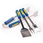 West Virginia Mountaineers 4 Pc Bbq Set