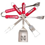 Nebraska Cornhuskers 4 Pc Bbq Set