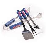 Mississippi Rebels 4 Pc Bbq Set