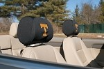 Tennessee Volunteers Headrest Covers Set Of 2