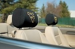 West Virginia Mountaineers Headrest Covers Set Of 2