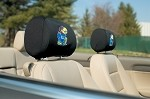 Kansas Jayhawks Headrest Covers Set Of 2