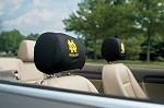 Notre Dame Headrest Covers Set Of 2