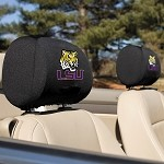 Louisiana State Tigers Headrest Covers Set Of 2