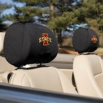 Iowa State Cyclones Headrest Covers Set Of 2