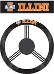 Illinois Fighting IlliniPoly-Suede Steering Wheel Cover