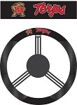 Maryland Terrapins Poly-Suede Steering Wheel Cover