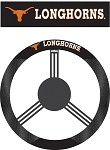 Texas Longhorns Poly-Suede Steering Wheel Cover