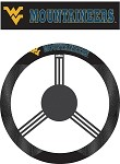 West Virginia Mountaineers Poly-Suede Steering Wheel Cover