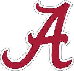 "Alabama Crimson Tide 12"" Vinyl Magnet"