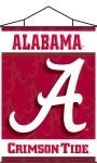 Alabama Crimson Tide Indoor Banner Scroll