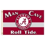 Alabama Crimson Tide 3 Ft. X 5 Ft. Man Cave Flag W/Grommets - Champ