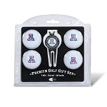 Arizona Wildcats 4 Ball Divot Tool Golf Gift Set