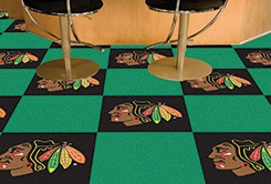 Chicago Blackhawks NHL Carpet Tiles