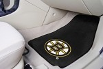 Boston Bruins NHL Two Piece Car Mat