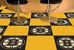 Boston Bruins NHL Carpet Tiles