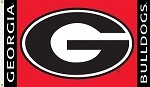 Georgia Bulldogs 2-Sided 3 Ft. X 5 Ft. Flag W/Grommets