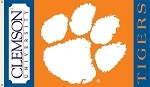 Clemson Tigers 2-Sided 3 Ft. X 5 Ft. Flag W/Grommets