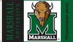 Marshall Thundering Herd3 Ft. X 5 Ft. Flag W/Grommets