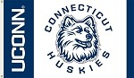 Connecticut Huskies 3 Ft. X 5 Ft. Flag W/Grommets