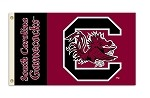 South Carolina Gamecocks 2-Sided 3 Ft. X 5 Ft. Flag W/Grommets