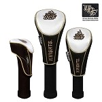 Central Florida Golden Knights Nylon Graphite Golf Set of 3 Headcovers
