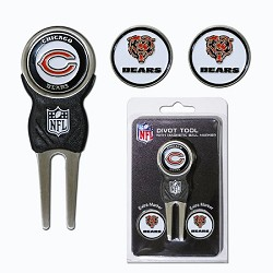 Chicago Bears Four Ball Divot Tool Gift Set