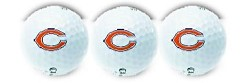 Chicago Bears NFL Golf Balls