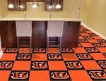 Cincinnati Bengals NFL Carpet Tiles