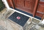 Cincinnati Reds MLB 19x30 Rubber Door Mat