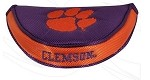 Clemson Tigers Mallet Golf Putter Cover