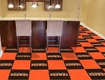 Cleveland Browns NFL Carpet Tile