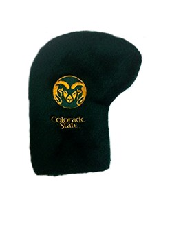 Colorado State Rams Fur Golf Putter Cover