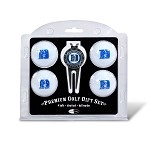 Duke Blue Devils 4 Ball Divot Tool Golf Gift Set