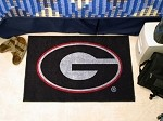 Georgia Bulldogs Black NCAA Starter Mat