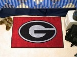 Georgia Bulldogs Red NCAA Starter Mat