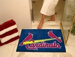 St Louis Cardinals MLB All-Star Floor Mat